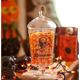 Belladonna Skull & Crossbone Jar