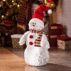 Merry Snowman Statue, 24 in.