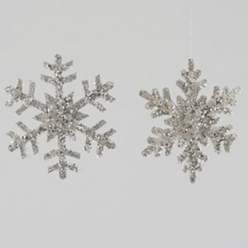 Sequin Snowflake Ornament