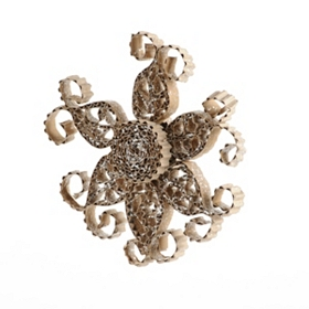 Crafty Snowflake Ornament, 7 in.