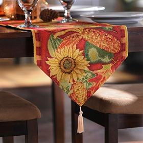 Harvest Sunflower Table Runner