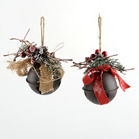 Holly Jingle Bell Ornament