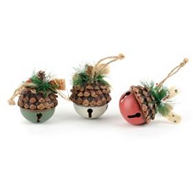 Acorn Bell Ornament