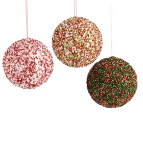 Sequin Ornament, 4 in.