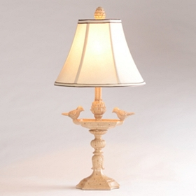 Bird Bath Table Lamp