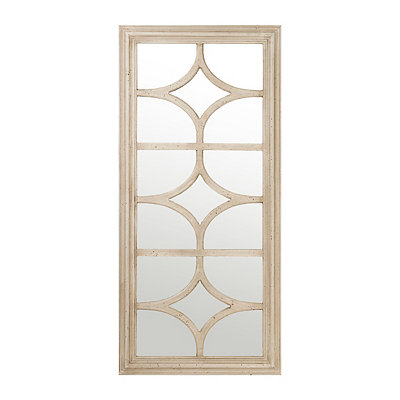 Stella Antique Cream Mirror, 28x59