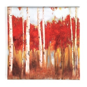 Edge Of The Wood Canvas Art Print