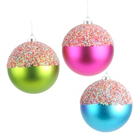 Candy Dipped Ornament