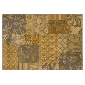 Suzanne Patchwork Area Rug, 5x7