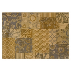 Suzanne Patchwork Area Rug, 8x10