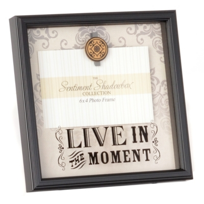 Live In The Moment Picture Frame, 4x6