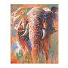 Elephant Global Canvas Art Print