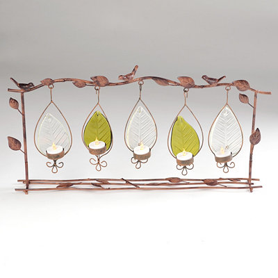 Bird & Branch 5-Candle Votive Runner