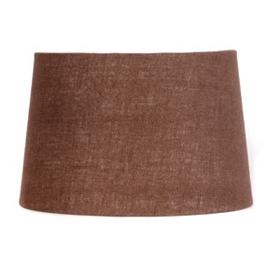 Chocolate Burlap Hardback Shade