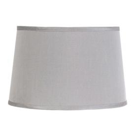 Gray Dupioni Hardback Shade