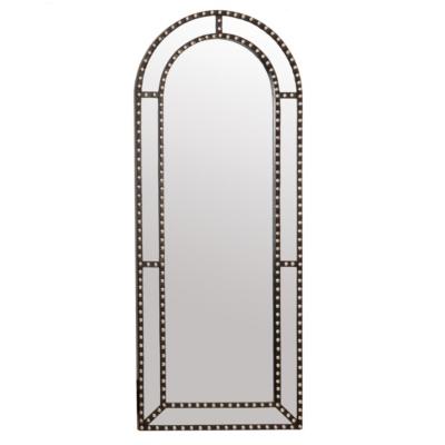 Studded Archway Mirror, 60x24