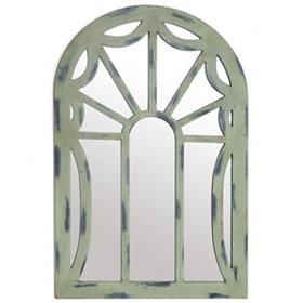 Scarlet Arch Wooden Mirror, 26x38