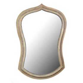Hansel Wooden Wall Mirror, 22x33