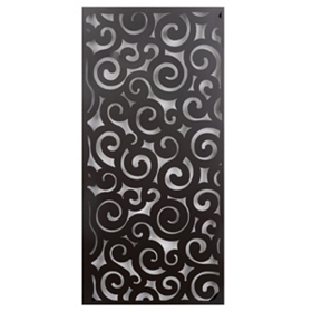 Abstract Swirls Wall Plaque