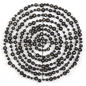 Concentric Circles Wall Plaque
