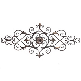 Duchess Scrolled Wall Plaque