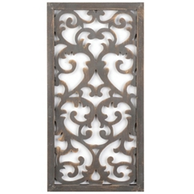 Victorian Scrolled Wall Plaque