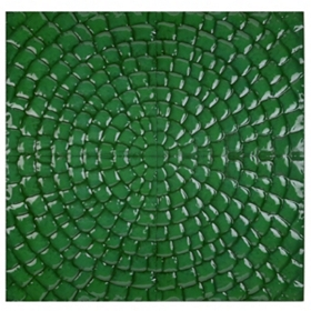 Emerald Green Pixel Wall Plaque