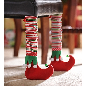 Elf Bootie Chair Leg Cover, Set of 2