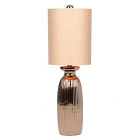 Copper Ceramic Table Lamp