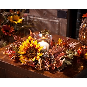 Sunflower Candle Holder