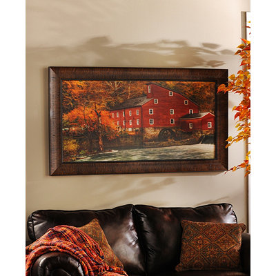 Red Mill Framed Art Print