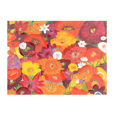 Bursting Blossoms Canvas Art Print