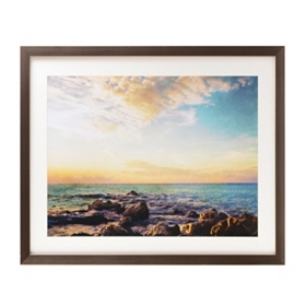 Land & Water Canvas Art Print