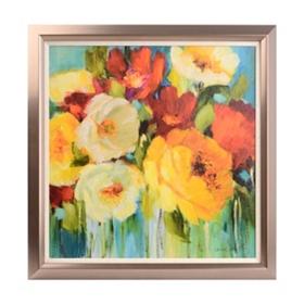 Viva la Flores Framed Art Print
