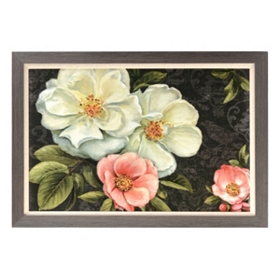 Flowers in the Night II Framed Art Print