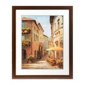 Evening in Sienna Framed Art Print