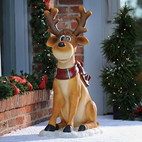 Dasher the Reindeer Statue, 38 in.