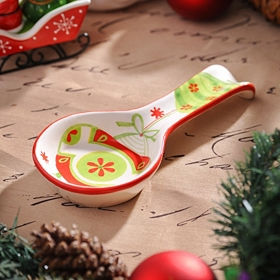Holiday Whimsy Spoon Rest