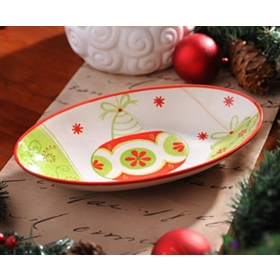 Holiday Whimsy Serving Bowl