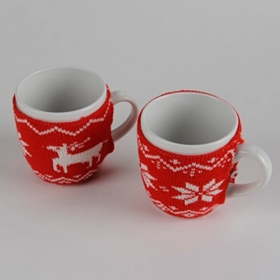 Christmas Sweater Knit Mugs