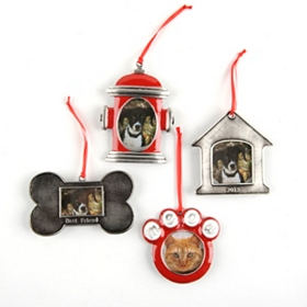 Pet Frame Christmas Ornament