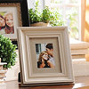 Distressed Cream Wood Picture Frame, 8x10