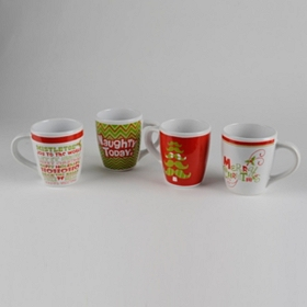 Big Jolly Christmas Mugs