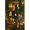 Nativity Scene Ornaments, Set of 10