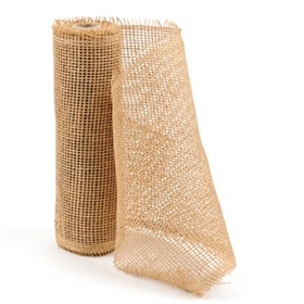 Natural Paper Mesh Ribbon
