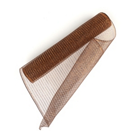 Wide Bronze Mesh Ribbon