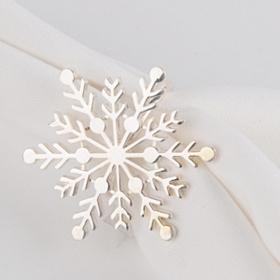 Pewter Snowflake Napkin Ring