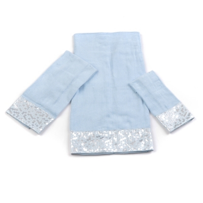 Blue Moonlite 3-pc. Towel Set