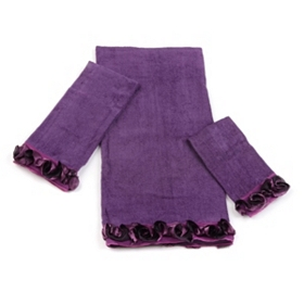 Purple Romance 3-pc. Towel Set