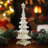 Ivory Sparkle Christmas Tree Statue